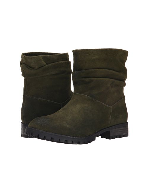 Chinese Laundry | Green Flip Slouch Bootie | Lyst