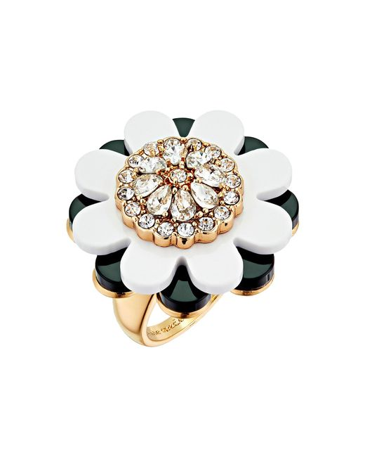 Kate Spade | Multicolor Shadow Blossoms Ring | Lyst