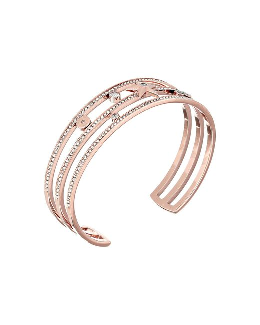 Michael Kors - Metallic Brilliance Cuff Bracelet - Lyst