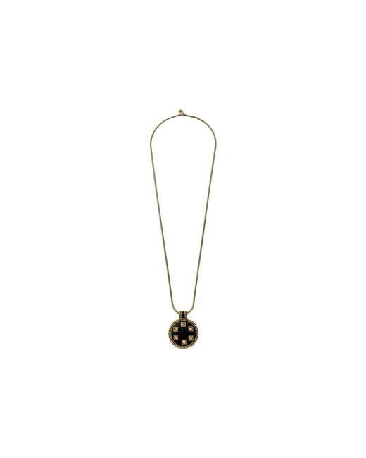 House of Harlow 1960 | Metallic Helicon Medellion Necklace | Lyst