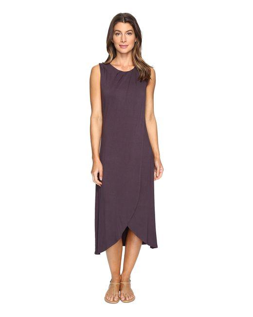 B Collection By Bobeau | Purple Meryl Jersey Knit Dress | Lyst