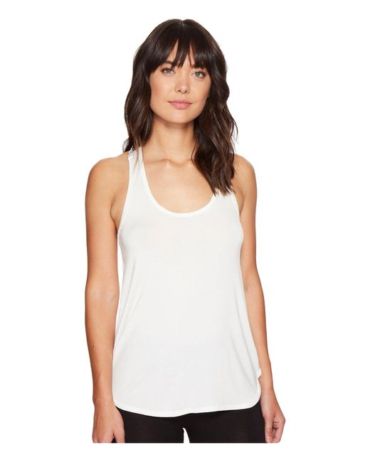 Pj Salvage | Natural Lace Back Tank Top | Lyst