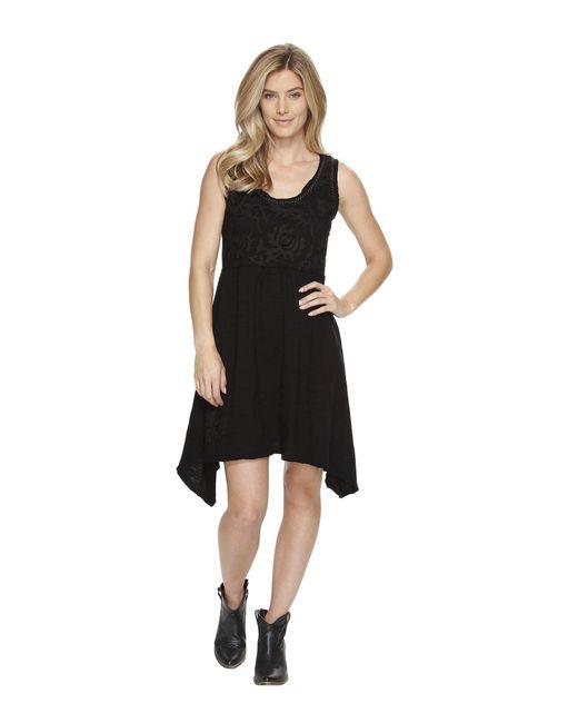 Double D Ranchwear   Black Lotus Petals Dress   Lyst