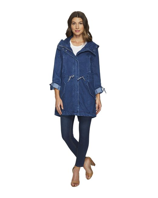 "Marc New York | Blue Dakota Denim 35.5"" Anorak 