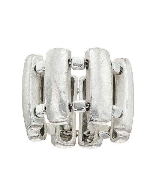 Robert Lee Morris | Metallic Sculptural Rectangle Bar Ring | Lyst
