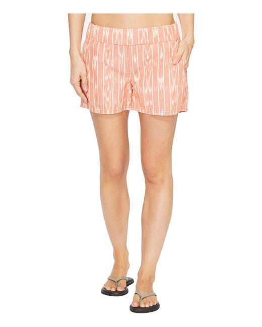 Prana | Pink Reba Shorts | Lyst