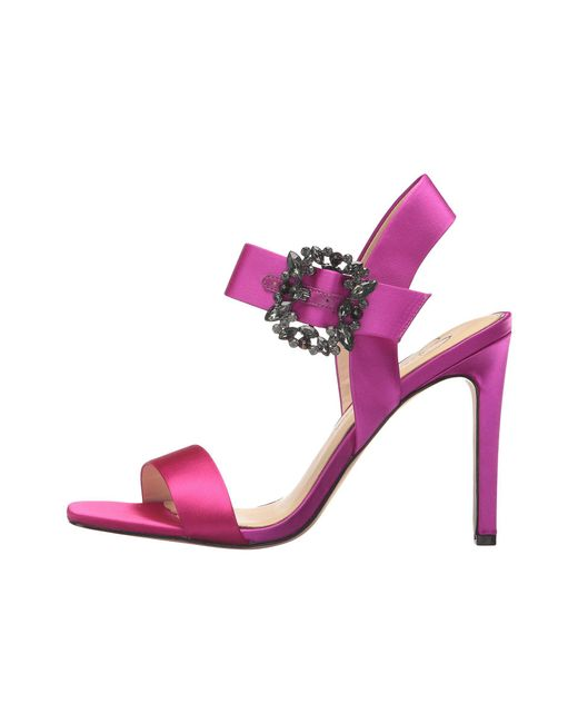 5889de189403 Lyst - Jessica Simpson Bindy Heeled Sandal in Pink - Save 51%