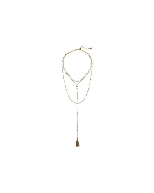 Shashi - Multicolor Enne Lariat Necklace - Lyst
