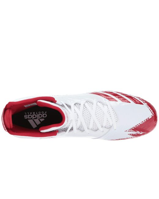 Lyst - adidas Freak X Carbon Mid Football Shoe in Red for Men - Save ... 62871be9de5