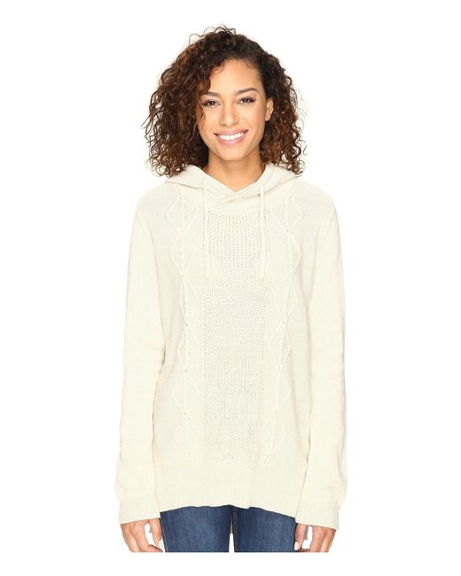 Hurley - White Cody Pullover Sweater - Lyst