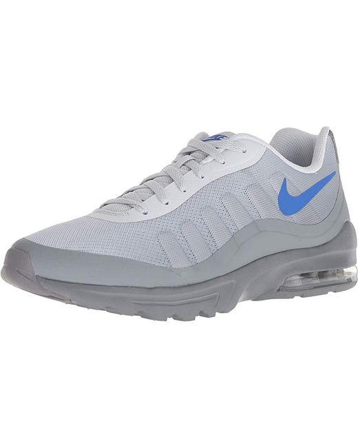 8532c80829 ... Nike - Gray Air Max Invigor (pure Platinum/hyper Royal/cool Grey)