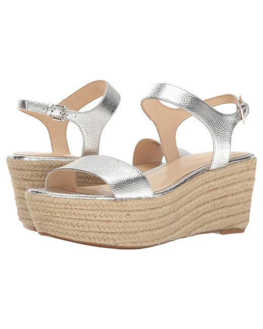 Nine West - Metallic Flownder - Lyst