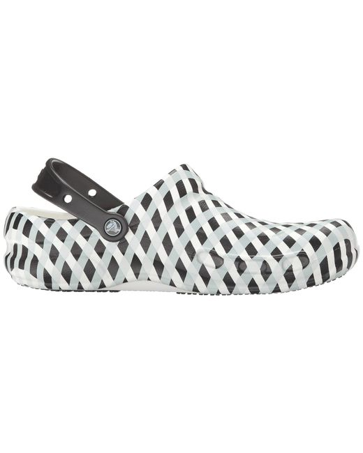 de1d3d2b3e249 ... Crocs™ - White Bistro Gingham - Lyst ...