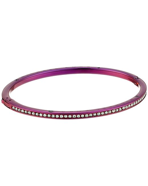 Michael Kors - Purple Brilliance Pave Bangle Bracelet - Lyst