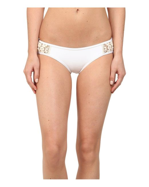 Lucky Brand - White Natural Connection Hipster Bottom - Lyst