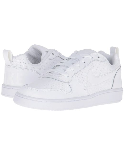 Nike - White Court Borough Low - Lyst