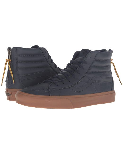 Vans - Blue Sk8-hi Reissue Zip for Men - Lyst