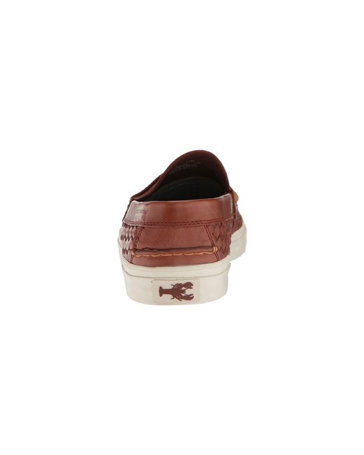 490a8e682cc ... Cole Haan - Brown Pinch Weekender Luxe Huarache Loafer for Men - Lyst  ...