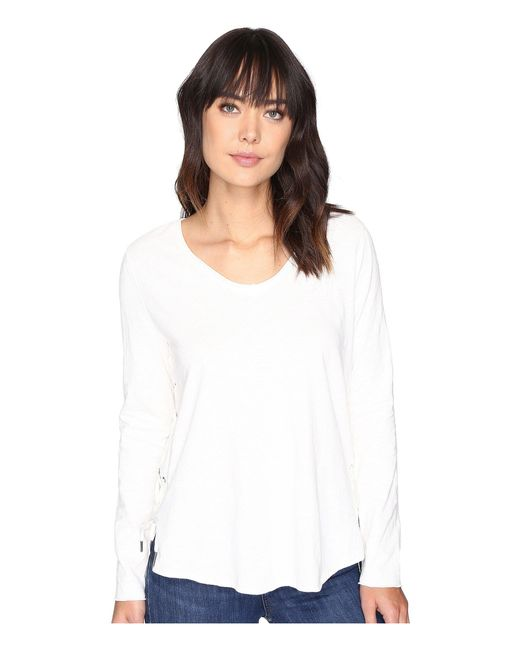 Blank NYC - Clean Slate Shirts In White - Lyst