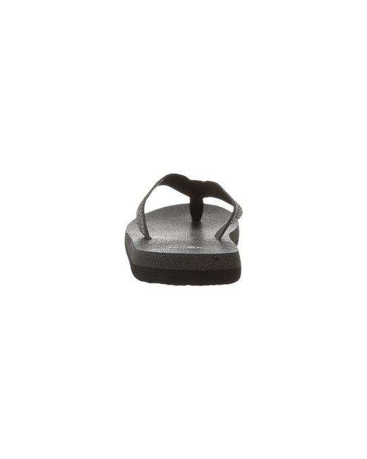 6795d51648e24f Lyst - Sanuk Yoga Mat Web-bling in Black - Save 12%