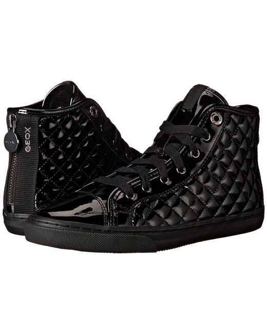 Geox - Black New Club High Top Faux-leather Fashion Sneaker - Lyst