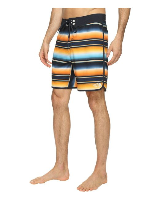 e4911aff68 ... The North Face - Blue Whitecap Boardshorts - Short for Men - Lyst ...