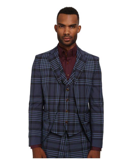 Vivienne Westwood - Blue Democrat Waistcoat Jacket for Men - Lyst