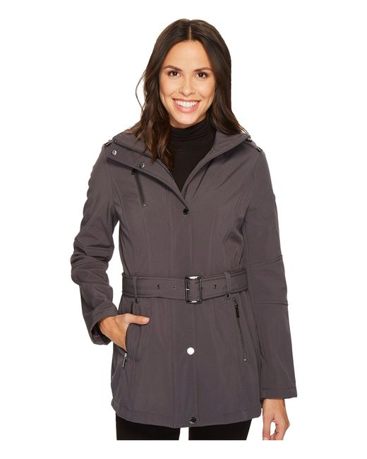 MICHAEL Michael Kors - Multicolor Snap Front Belted Softshell M522207c - Lyst