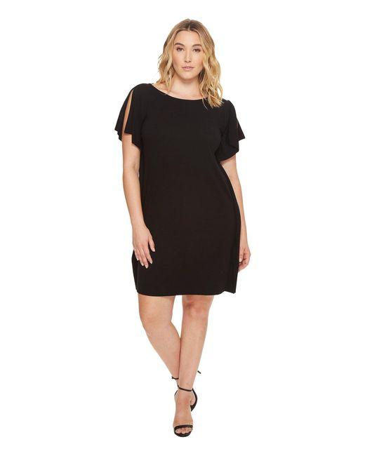 B Collection By Bobeau - Black Plus Size Rafferty Dolman Knit Dress - Lyst