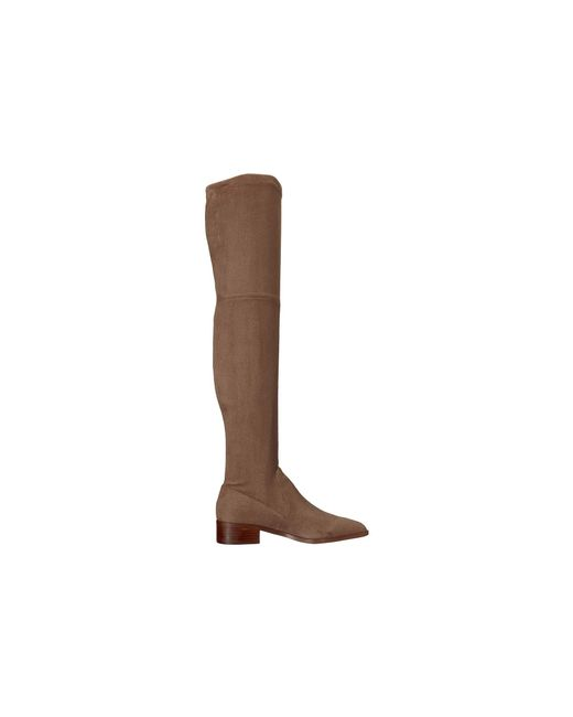 69242cec1b8 ... Steve Madden - Brown Jestik Over The Knee Boot - Lyst ...