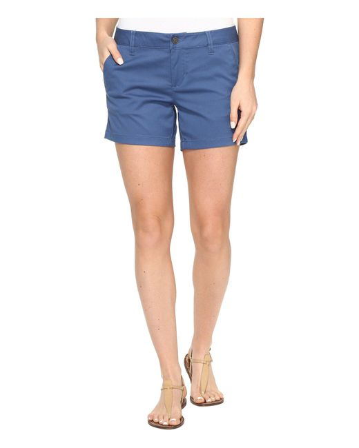 """Volcom - Blue Frochickie 5"""" Shorts - Lyst"""