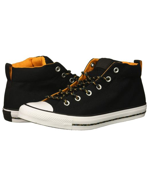 a15dd9e5a5a1c6 Lyst - Converse Chuck Taylor® All Star® Street Mid in Black for Men ...