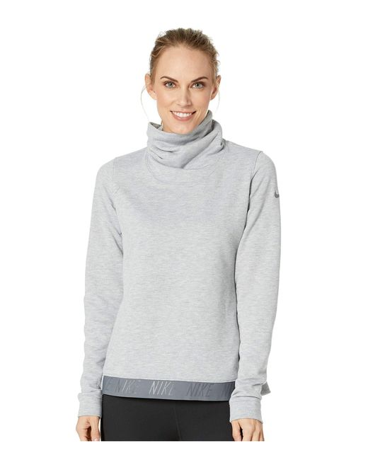 762288be88318 Lyst - Nike Dry Training Top in Gray - Save 26%