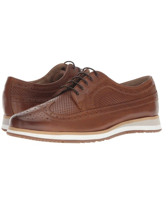 Florsheim - Brown Flux Wingtip Oxford for Men - Lyst