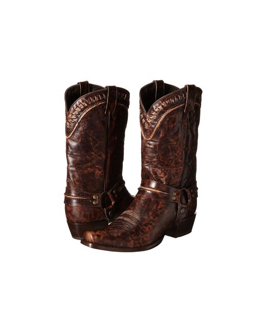 Stetson - Brown Outlaw Buckstitch Western Boot for Men - Lyst