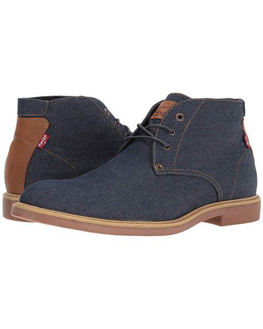 1c103bbd27e9 Levi's Levi's(r) Shoes Monroe Denim (navy/gum) Shoes in Blue for Men ...