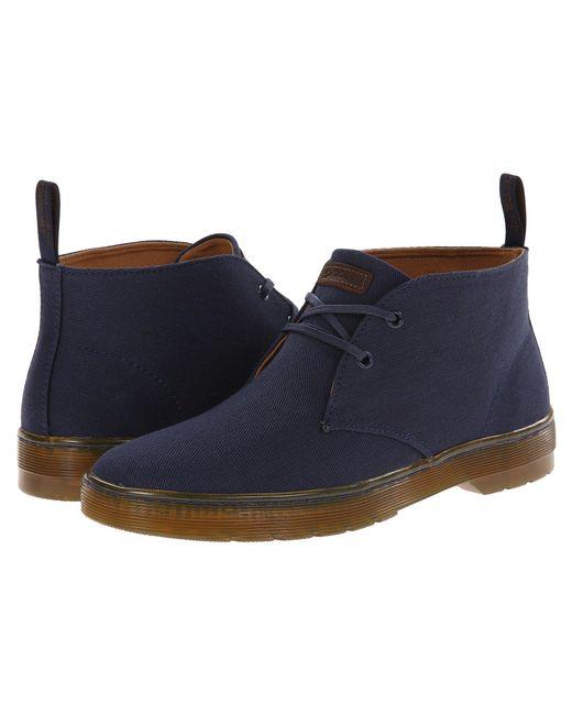 Dr. Martens - Blue Mayport 2-eye Desert Boot for Men - Lyst