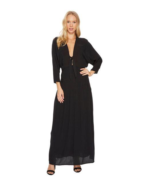 Amuse Society - Black Sunset Row Dress - Lyst