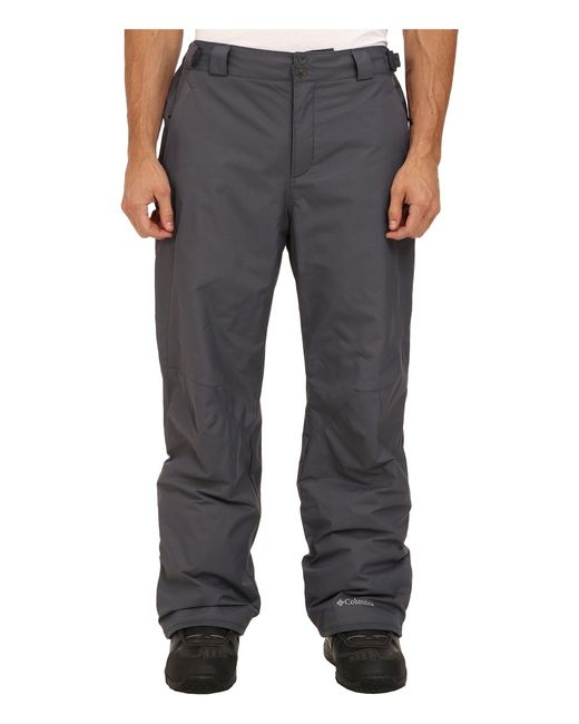 Columbia - Gray Bugabootm Ii Pant - Tall (graphite) Men's Outerwear for Men - Lyst