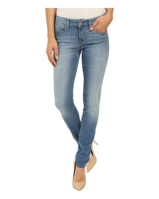 Mavi Jeans - Blue Alexa In Light Brushed Shanti - Lyst