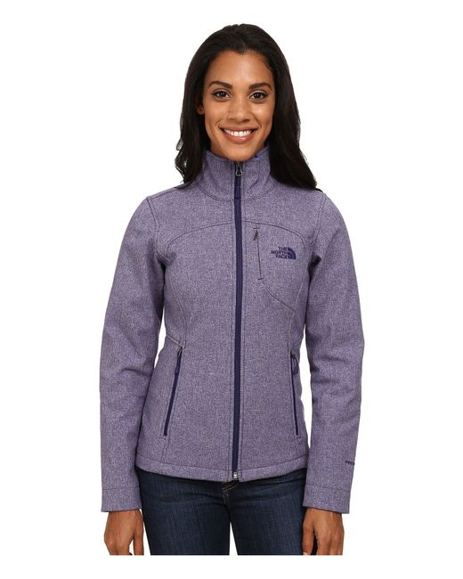 The North Face - Purple Apex Bionic Jacket - Lyst