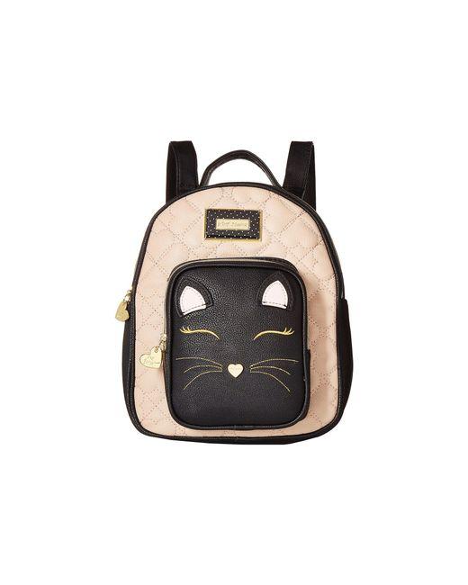 Betsey Johnson | Black Convertible Backpack | Lyst