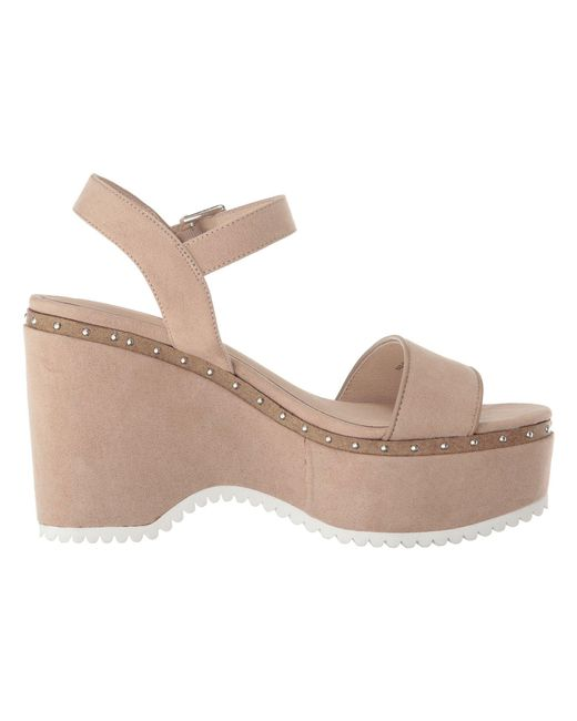 17d31682fa47 Lyst - Chinese Laundry Tula Sandal in Natural - Save 24%