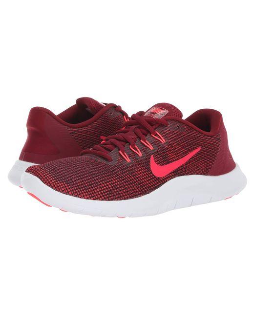 da94cc34c2c4c Nike - Red Flex Rn 2018 - Lyst ...