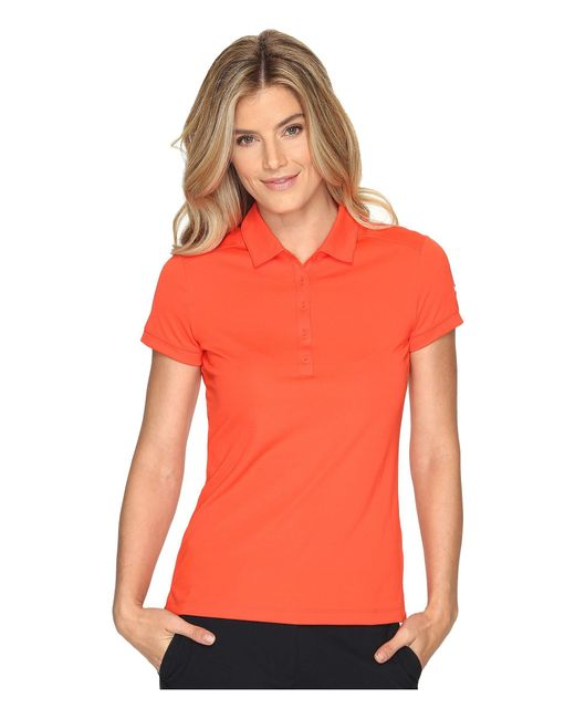 Nike - Orange Victory Solid Polo - Lyst