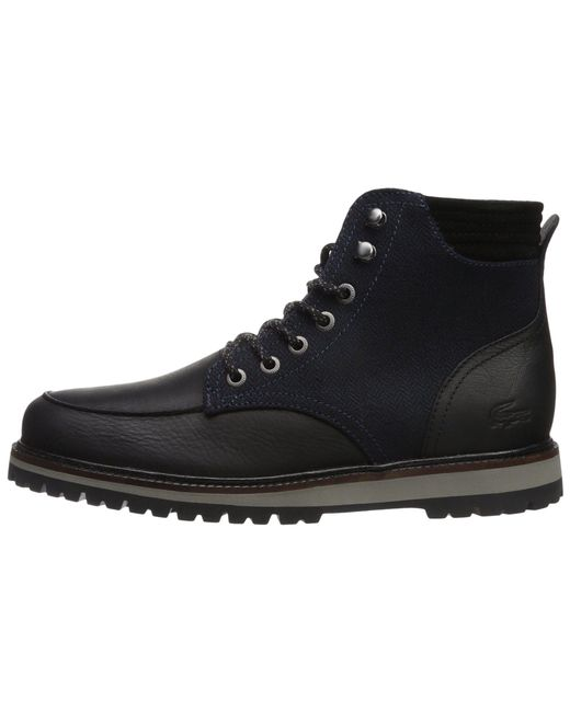 07cc4b785 Lyst - Lacoste Montbard Boot 417 1 Cam in Black for Men - Save 37%