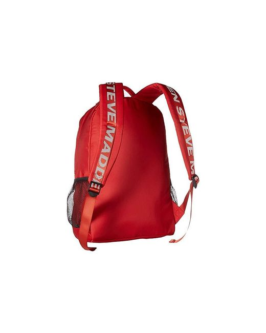 1d0740f7ce Steve Madden Bjoss Backpack (red) Backpack Bags in Red - Lyst