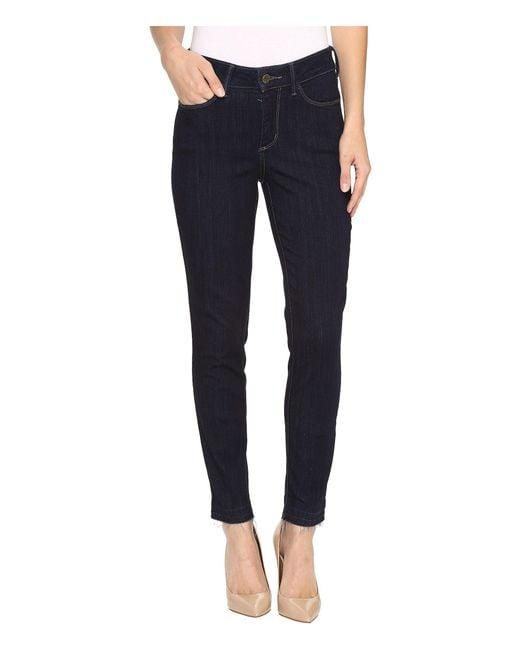 NYDJ - Blue Ami Super Skinny Jeans W/ Released Hem In Mabel - Lyst
