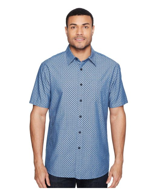 Pendleton | Blue Tennyson Shirt Ditsy Foulard for Men | Lyst