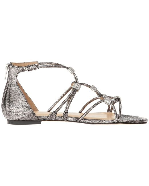 ... Ivanka Trump - Multicolor Chaley 2 Flat Strappy Sandals - Lyst ...